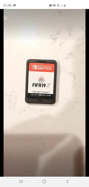 Fifa 19 for Nintendo switch for Sale in Saint Robert, MO