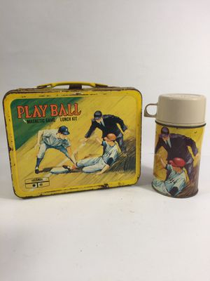 Playball Lunchbox With Thermos for Sale in Indianapolis, IN