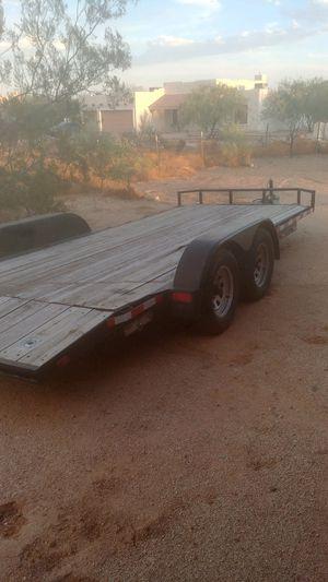 "18' car hauler trailer 86"" wide for Sale in Glendale, AZ"