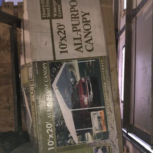 10x20 CAR CANOPY for Sale in Carleton, MI