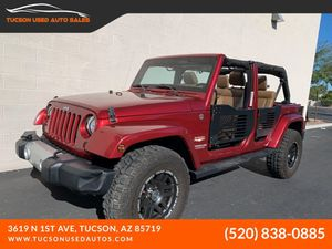 2012 Jeep Wrangler Unlimited for Sale in Tucson, AZ