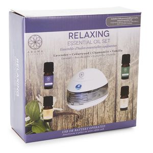5-Piece Relaxing Essential Oil Gift Set for Sale in Lancaster, TX