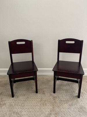 Two wooden children's chairs for Sale in San Juan Capistrano, CA