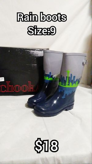 CHOOKA size:9 Rain boots for Sale in Moreno Valley, CA