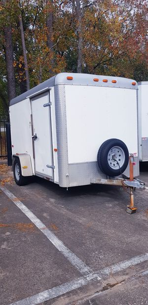 6x12 Cargo trailer 2014 for Sale in Humble, TX