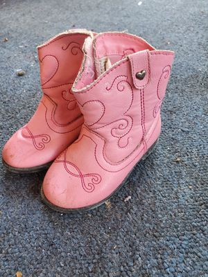 Pink toddler girls boots for Sale in Winter Haven, FL