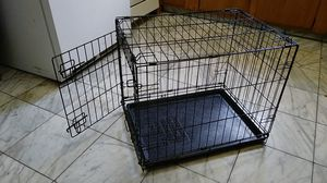 Brand new dog cage for small dogs with removable sliding tray for Sale in Gaithersburg, MD