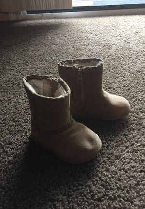 super cute baby girl boots size 4/5 for Sale in Valdosta, GA