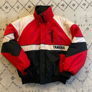 Vintage 80's Yamaha snowmobile jacket* men's xl for Sale in Spokane, WA