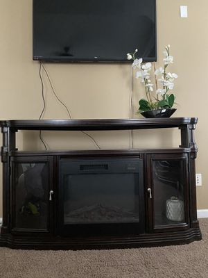 Fireplace tv stand for Sale in Spring Hill, TN
