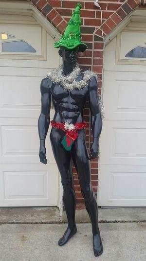 Black four piece mannikin....6 foot tall for Sale in Burr Ridge, IL