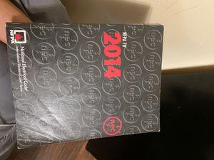 Nec 2014 code book for Sale in Riverside, CA