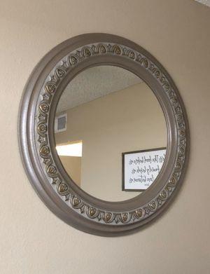 Round mirror for Sale in Highland, CA