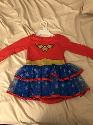 Wonder Woman costume (toddler) for Sale in Chicopee, MA