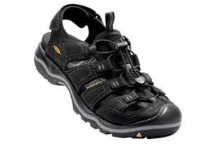 Keen Rialto men's black hiking rafting water sandals shoes size 7.5 7 1/2 NEW for Sale in Escondido, CA