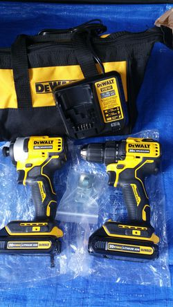$190.. . Dewalt 20v Brushless impact drive Drill kit for Sale in Evergreen,  CO