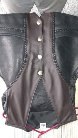 Leather vest and pants for Sale in Cape Coral, FL
