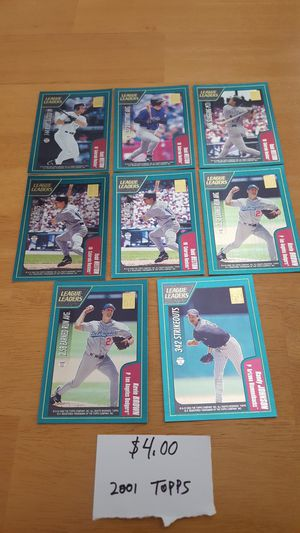 8 baseball cards. for Sale in Delray Beach, FL