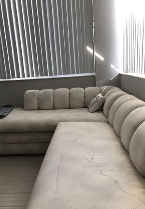 Custom Made L-shaped Sectional Couch for Sale in Miami, FL