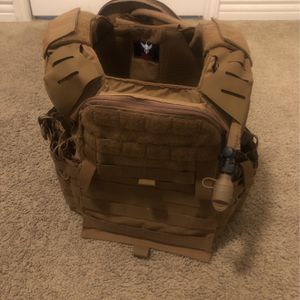 Sporting Chest Rig And Hydration Pouch. Included Pouch, Sling, And Patch. CASH ONLY for Sale in Yorba Linda, CA