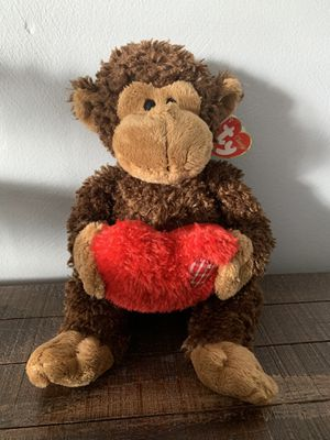 "TY Stuffed Monkey- ""hartwell"" for Sale in Indianola, PA"