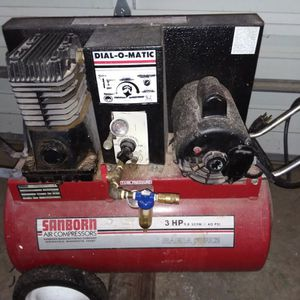 Sanborn 3HP Air Compressor for Sale in Vancouver, WA