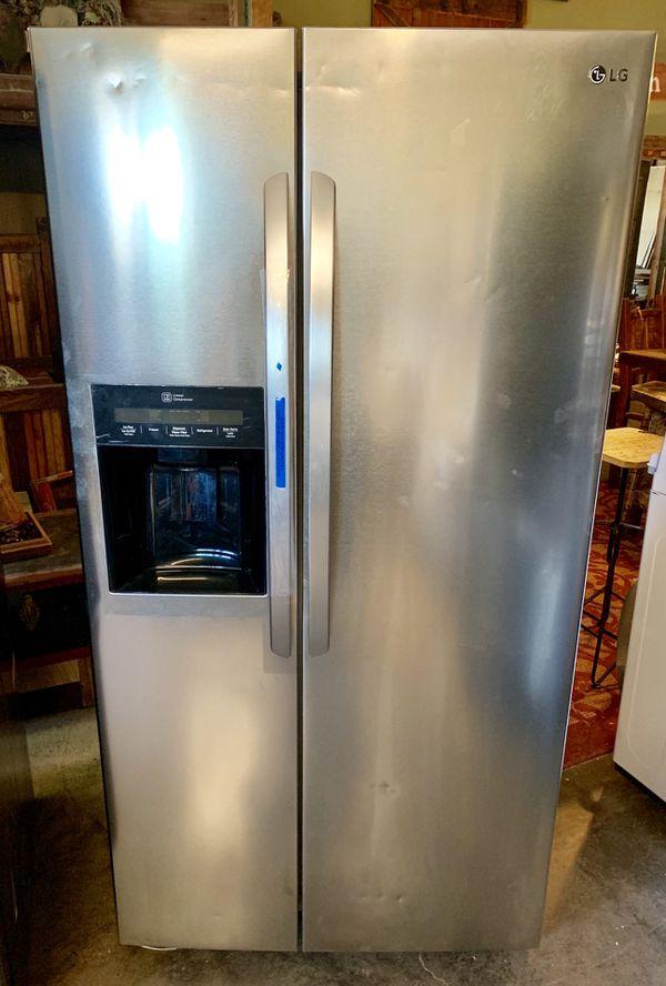 "LG 36"" Stainless Steel Refrigerator"