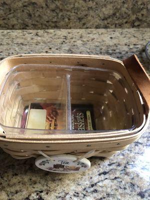 Longaberger Tea Basket for Sale in Scottsdale, AZ