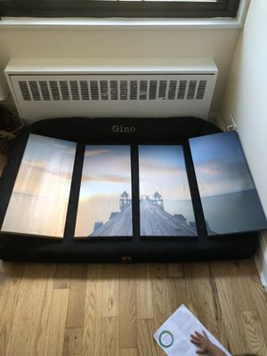 4 piece boardwalk sunset painting for Sale in The Bronx, NY