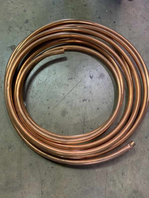 Copper piping 3/4X50
