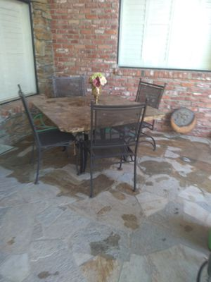 Patio furniture marble table top for Sale in Prather, CA
