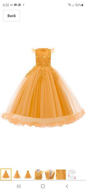 Ibtom castle girl flower dress for Sale in Hawthorne, CA