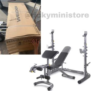 NEW ✅ WEIDER Olympic Workout Bench & Rack for Sale in Los Angeles, CA