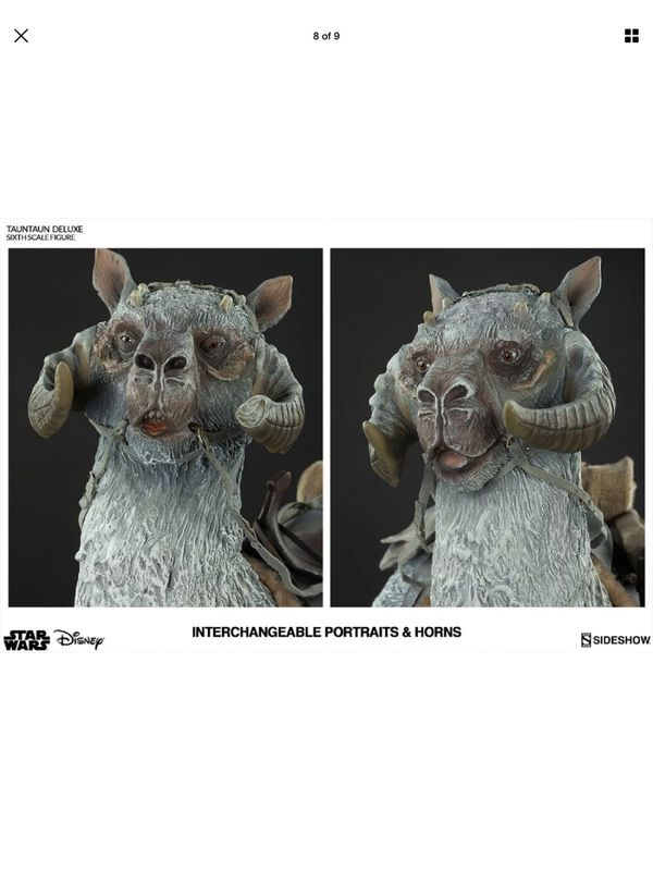 Sideshow Collectibles Star Wars The Empire Strikes Back Hoth Tauntaun 1/6 Scale Statue