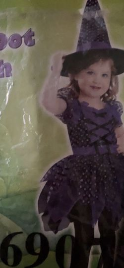 Witch Costume 2t for Sale in Salem,  OR