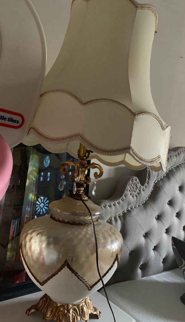 Set of two vintage style chandeliers