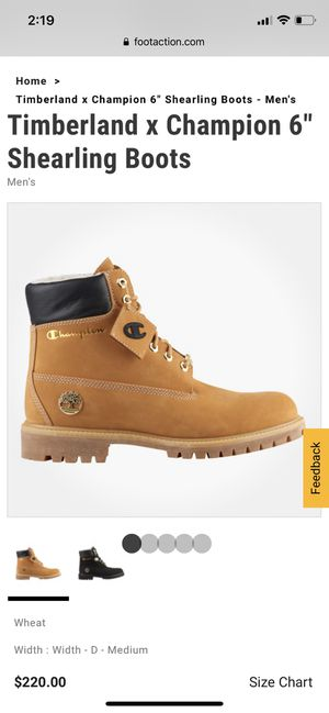 Timberland x Champion for Sale in Boston, MA
