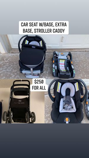 Chico Car Seat with extras for Sale in Lubbock, TX