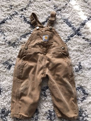 Infant Carhartt Overalls for Sale in Greenacres, WA