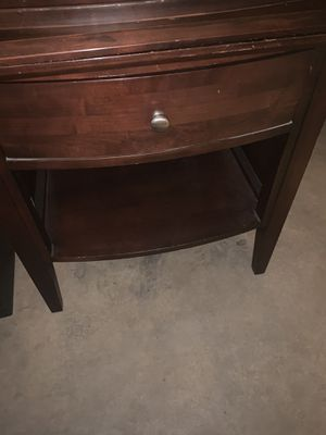 Two matching bed side tables or end tables for Sale in Smyrna, TN