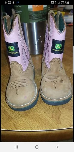 Boots Jhon Deere for girl for Sale in Houston, TX