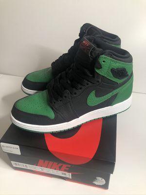 Nike air Jordan 1 pine green size 6 used for Sale in Bellevue, WA