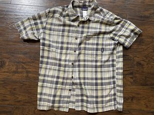 Patagonia Short Sleeve Button Down Organic Cotton Shirt for Sale in Oklahoma City, OK