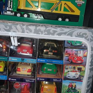 Chevron Collectible Toy Car Set for Sale in Spring, TX