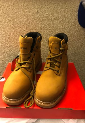 Wolverine work boots size 8 brand new for Sale in San Diego, CA