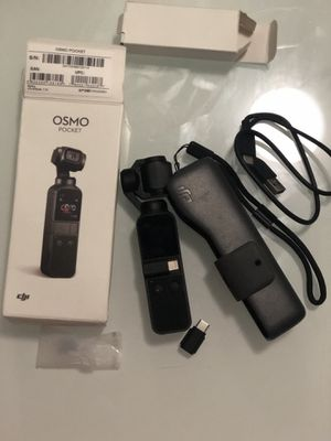 Osmo Poket little use, With memory card of 32 GB. for Sale in Miami Beach, FL