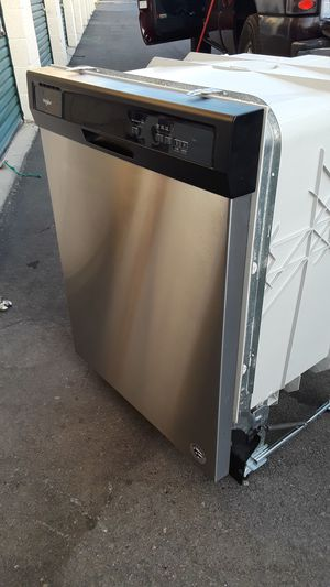 Dishwasher whirlpool in good condition everything works 24x34 for Sale in Corona, CA