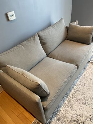 Gray Pull-Out Couch - Pickup only for Sale in Arlington, VA