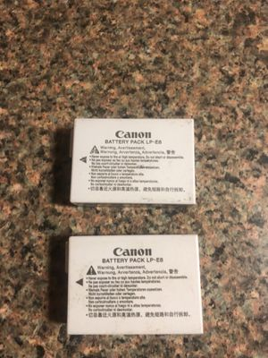 Canon T3i Batteries for Sale in San Antonio, TX