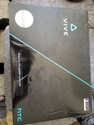 HTC VIVE VR SYSTEM WORKS PERFECT HAS SENSORS AND CONTROLLERS for Sale in Avon, IN